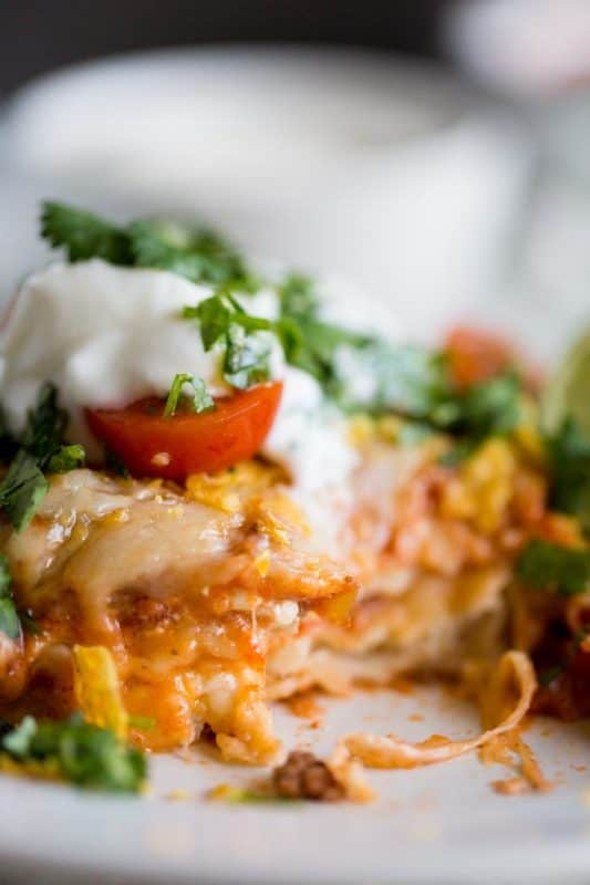 Best Ever Mexican Lasagna