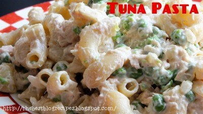 Tuna Pasta recipe from {The Best Blog Recipes} 1