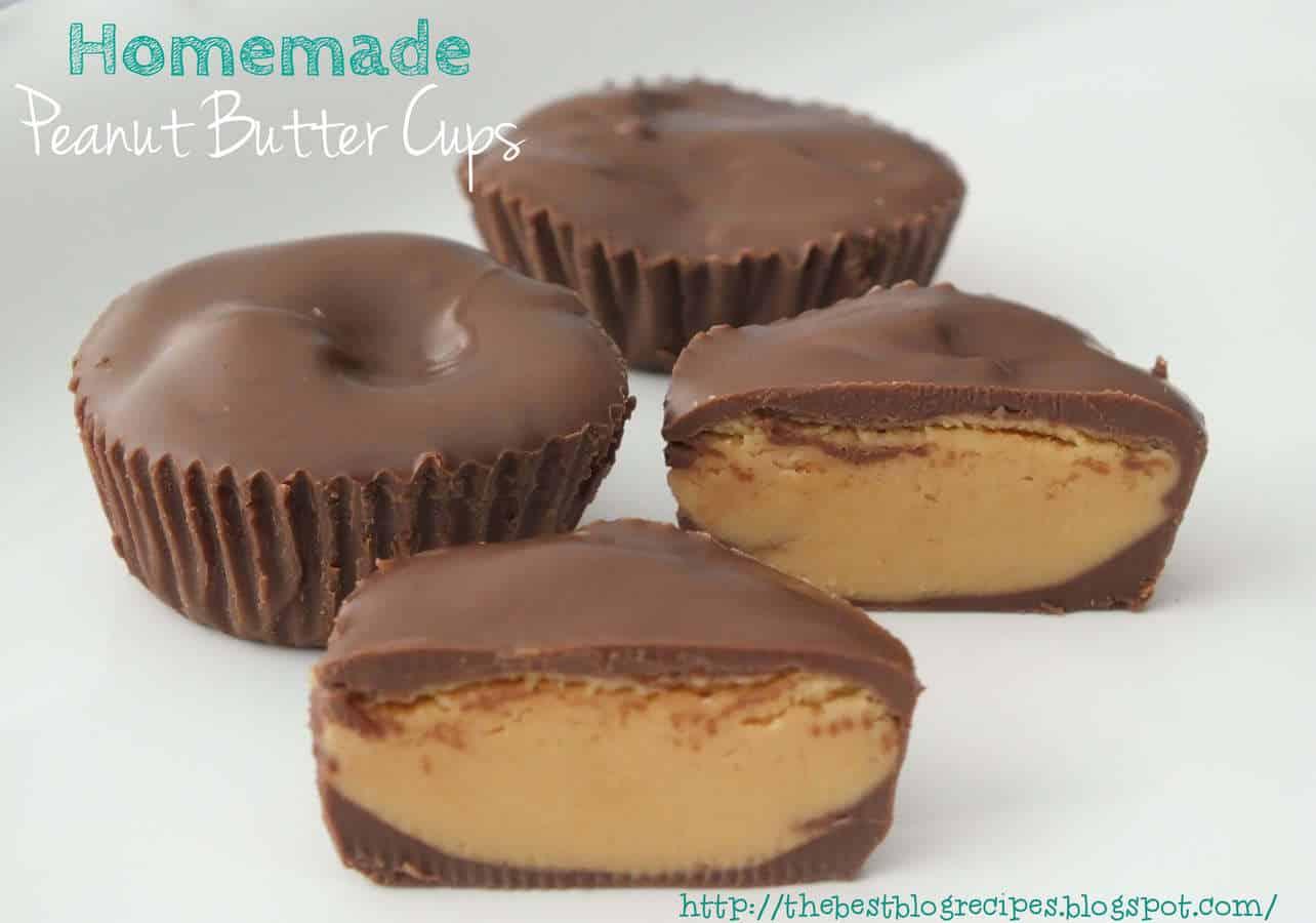 Homemade Peanut Butter Cups - The Best Blog Recipes