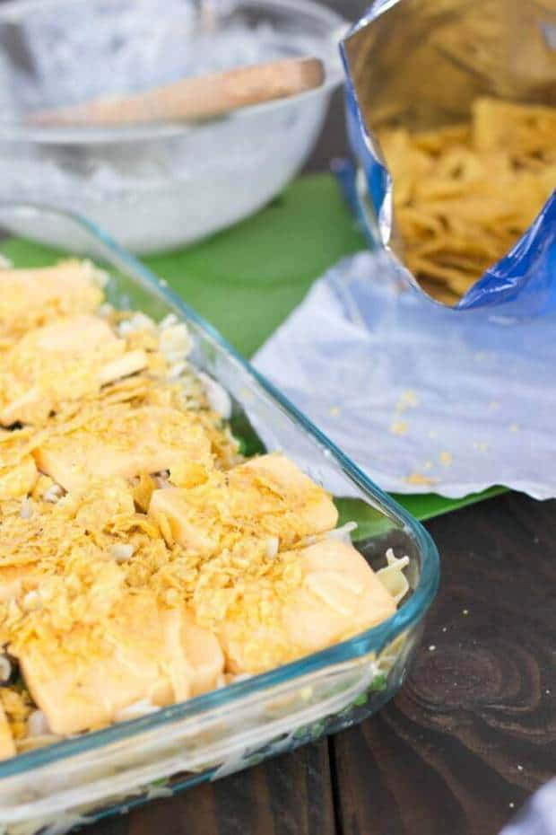 DORITOS COOL RANCH TUNA NOODLE CASSEROLE