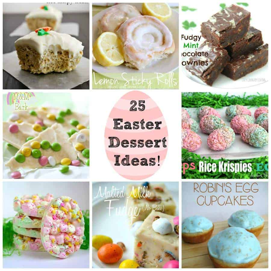 25 easter dessert ideas round up the best blog recipes for Good desserts for easter