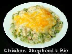 Chicken Shepherds Pie recipe from {The Best Blog Recipes} 1