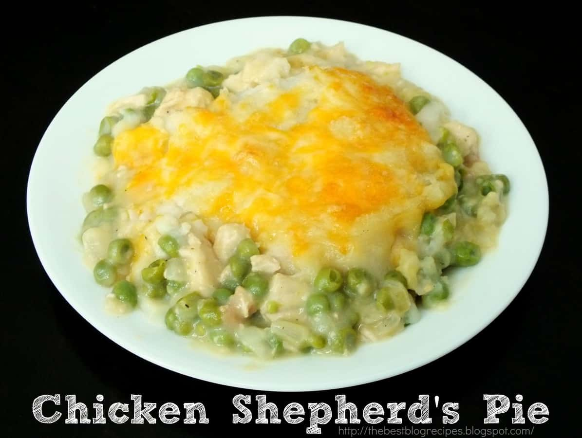 Chicken Shepherds Pie | The Best Blog Recipes
