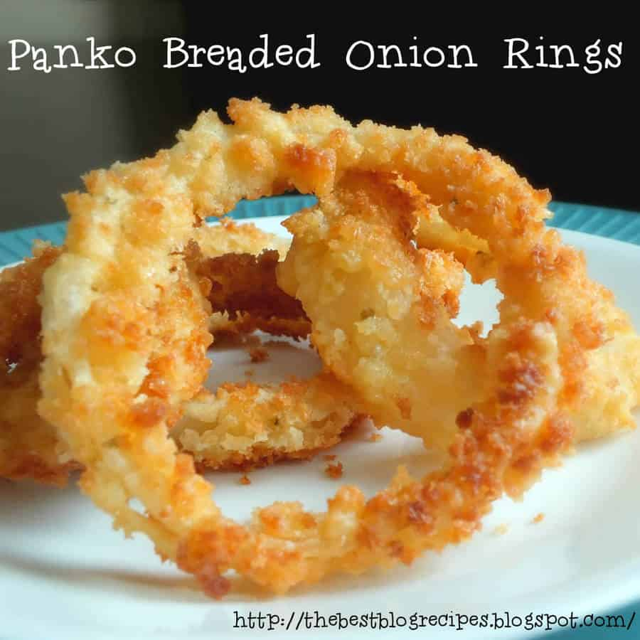 Panko Breaded Onion Rings