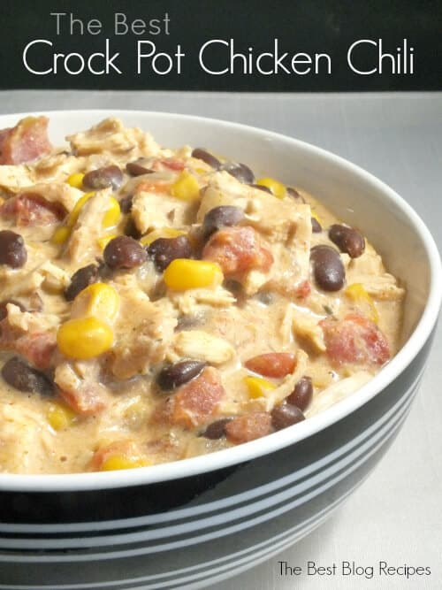 The Best Crock Pot Chicken Chili | The Best Blog Recipes