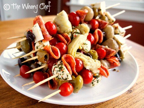 Antipasto Skewers | The Best Blog Recipes