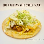 BBQ Carnitas with Sweet Slaw