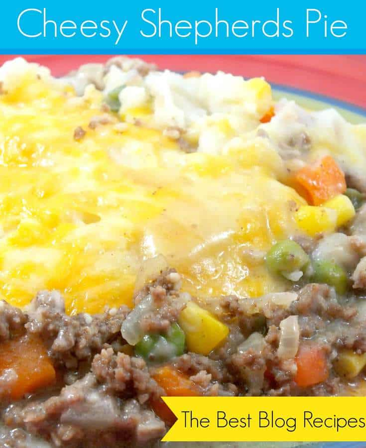 Cheesy Shepherds Pie | The Best Blog Recipes