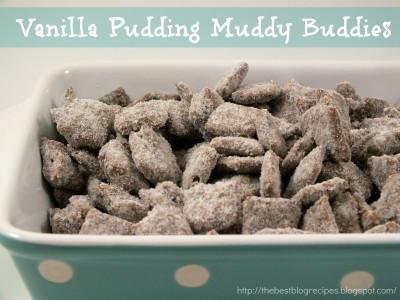 Vanilla Pudding Muddy Buddies