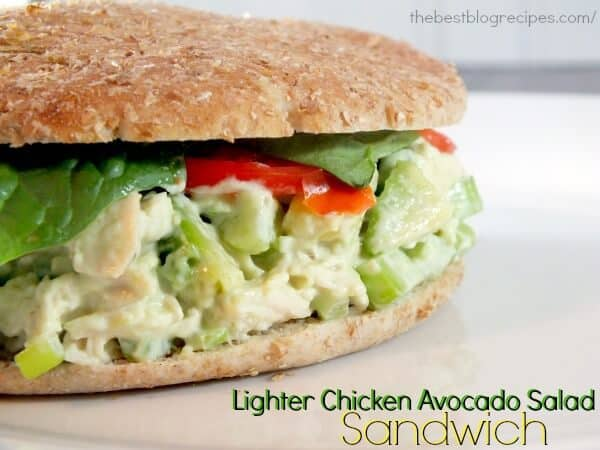 Lighter Chicken Avocado Sandwiches