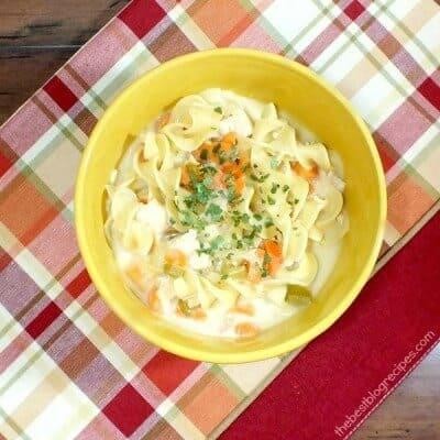 Creamy Chicken Noodle Soup 2