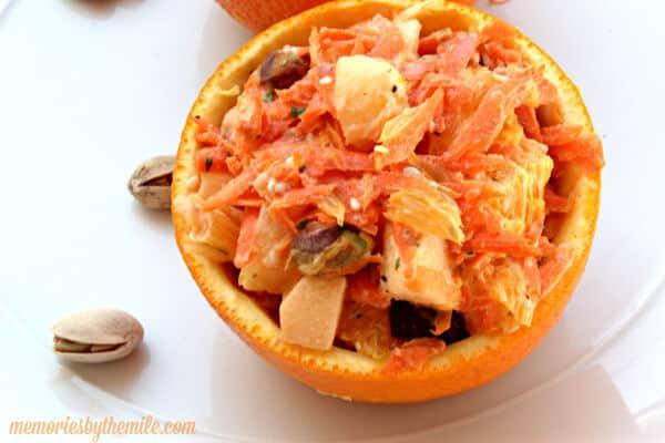 Carrot Pistachio Fruit Salad | The Best Blog Recipes