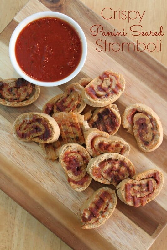 Crispy Panini Seared Stromboli