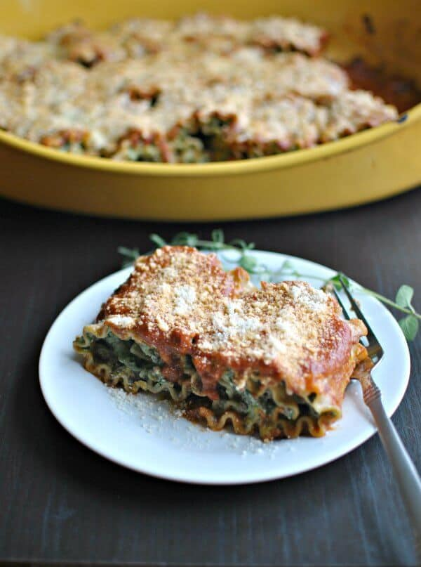 Beef Spinach Lasagna Roll-Ups | The Best Blog Recipes