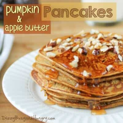Pumpkin Apple Butter Pancakes | The Best Blog Recipes