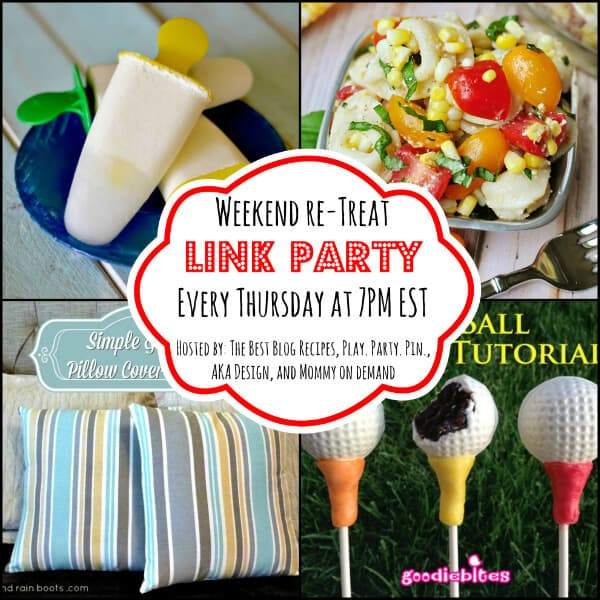 The Weekend re-Treat Link Party #70 on The Best Blog Recipes
