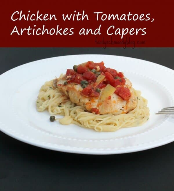 Chicken With Artichokes And Capers Recipe — Dishmaps