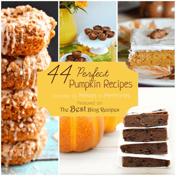 44 Perfect Pumpkin Recipes | thebestblogrecipes.com | #pumpkin #recipes