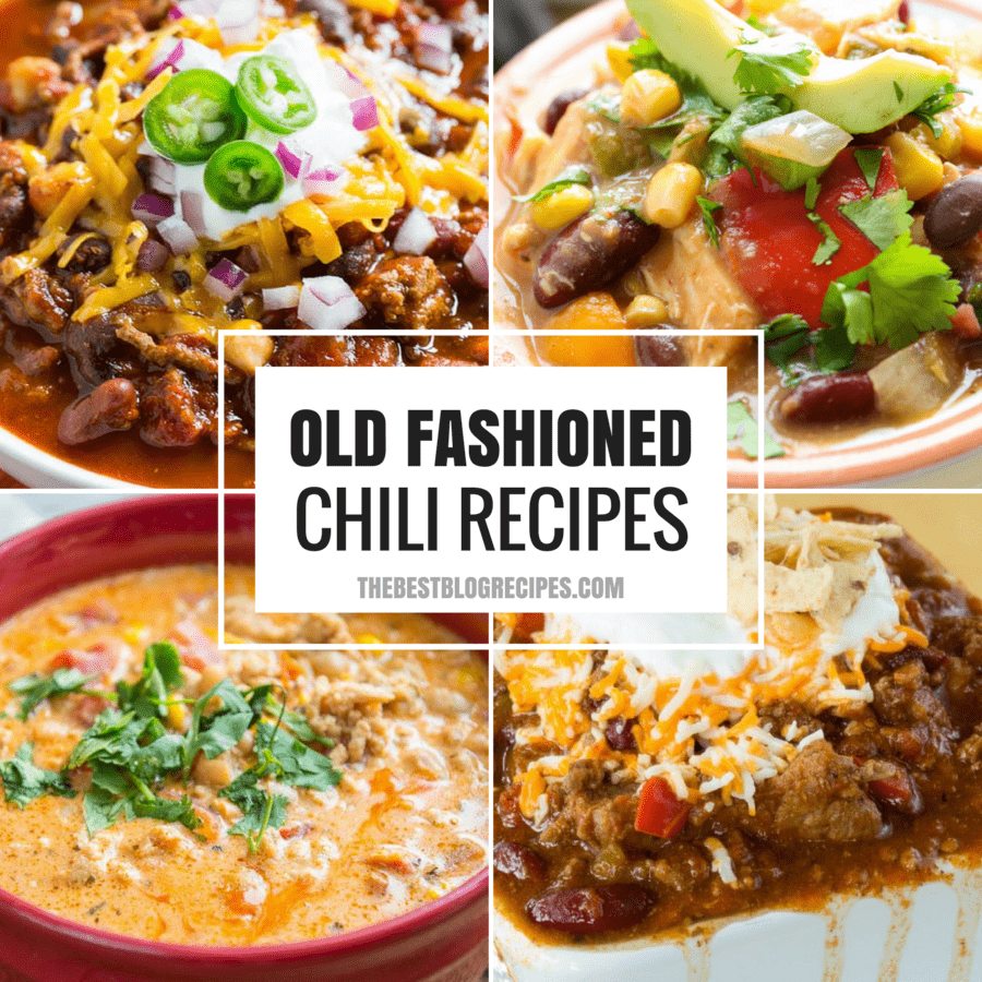 Old Fashioned Chili Recipes just like your grandma made!