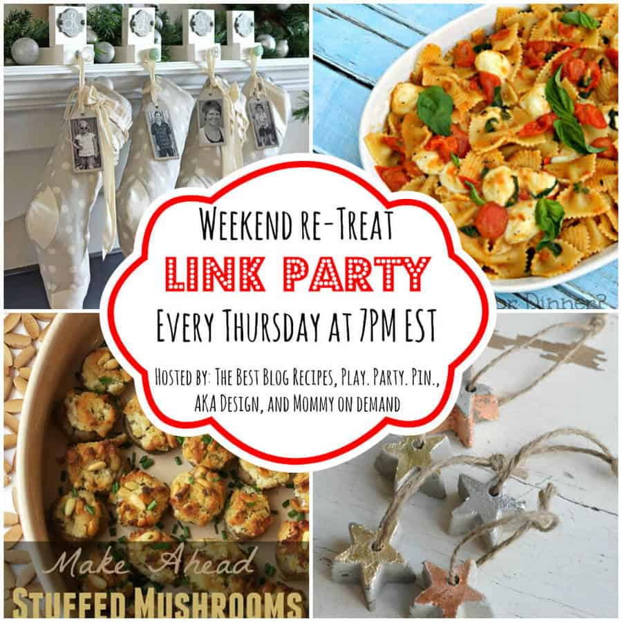 The Weekend re-Treat Link Party #94
