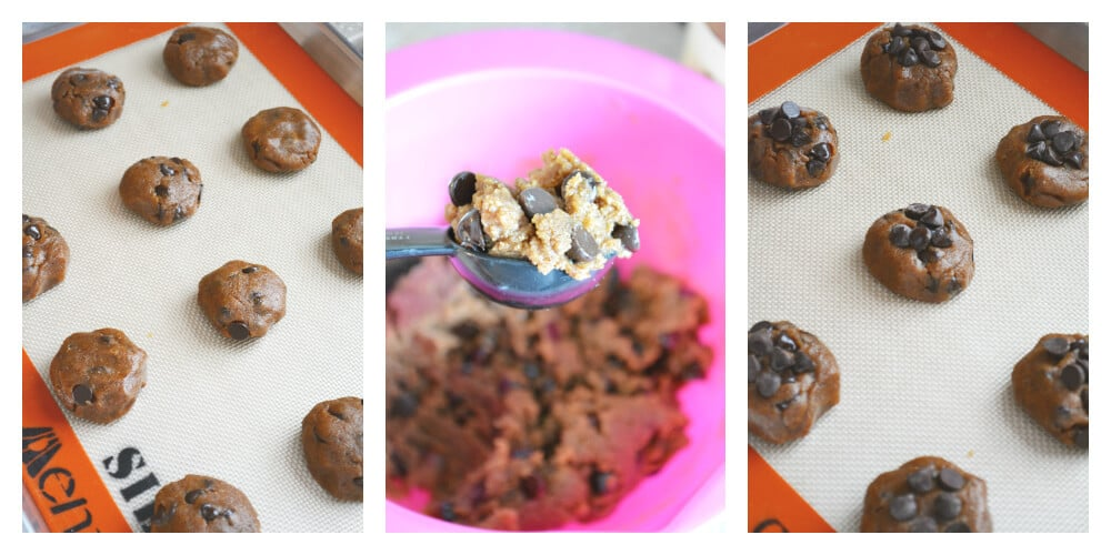 Almond Butter Chocolate Chip Cookie Dough