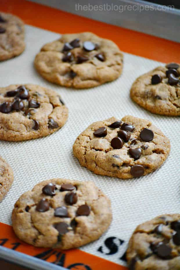 Almond Butter Cookies cooked 8 minutes