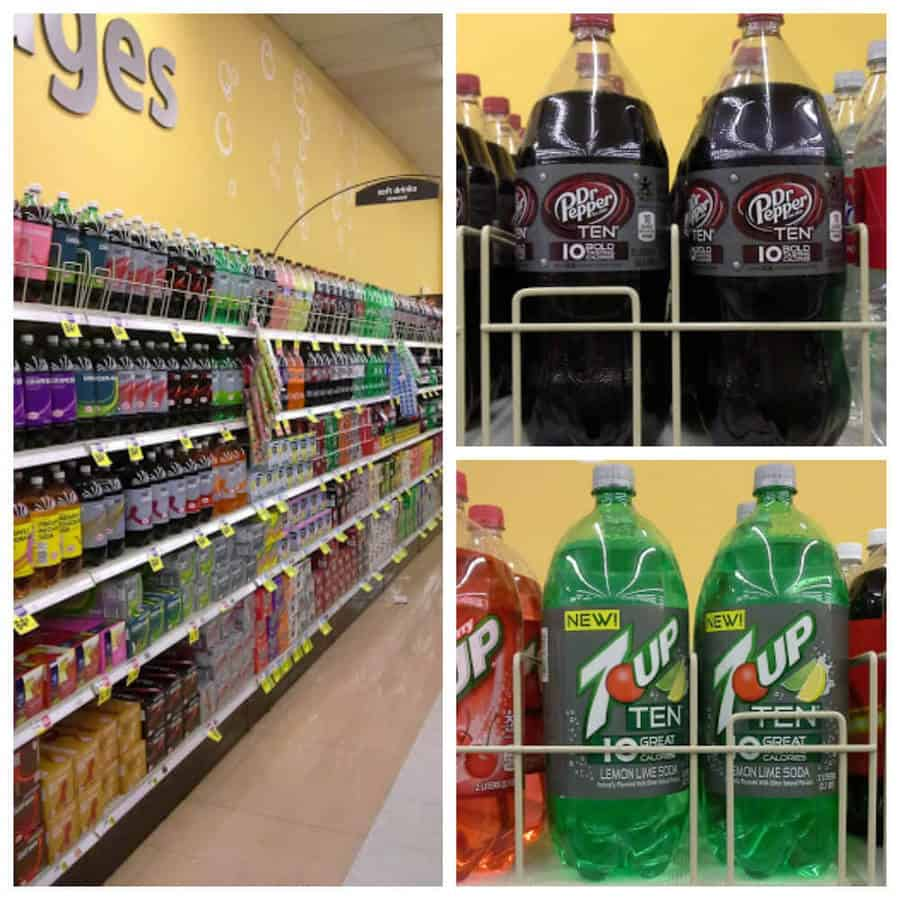 Pick up some Dr. Pepper TEN and 7UP TEN at your local Smiths or Kroger Marketplace! #drinkTEN #ad
