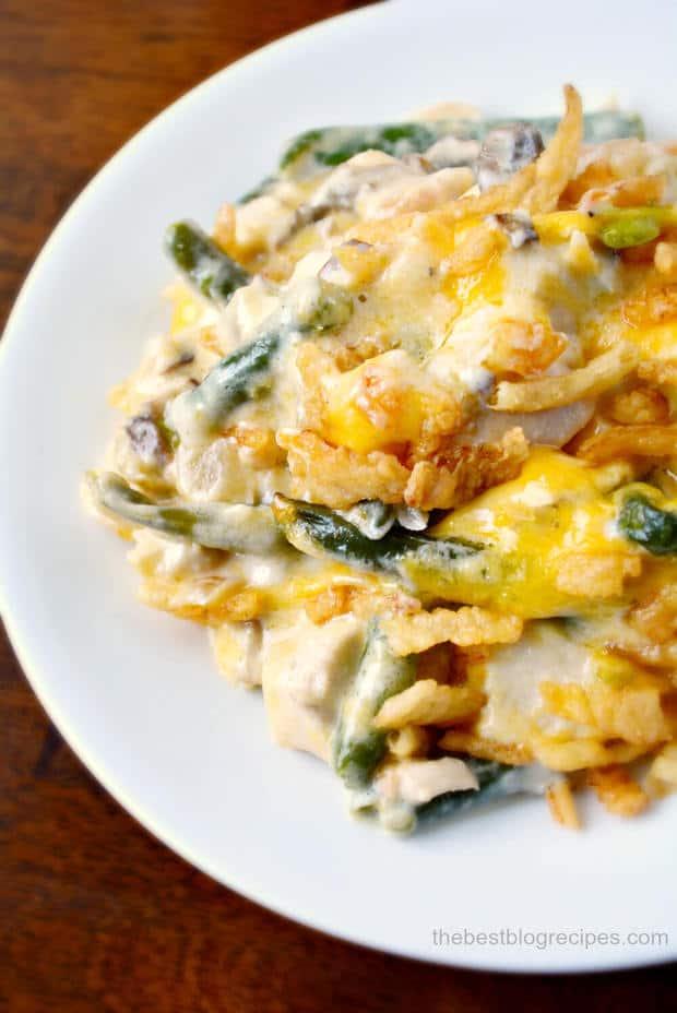 Creamy Cheesy Chicken and Green Bean Casserole Recipe