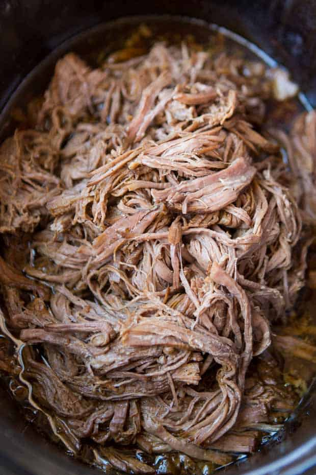 French Dip in a Slow Cooker
