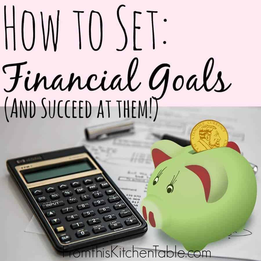 Financial Goals: 15 Money Saving Tips For Your Family