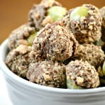 Milk Chocolate & Toffee Dipped Frozen Grapes Recipe