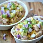Mexican Chicken Ranch Tacos