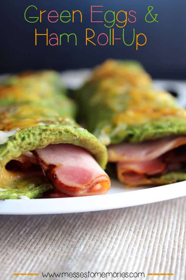 Green Eggs and Ham Omelet featured on 25 Gluten Free Recipes from The ...