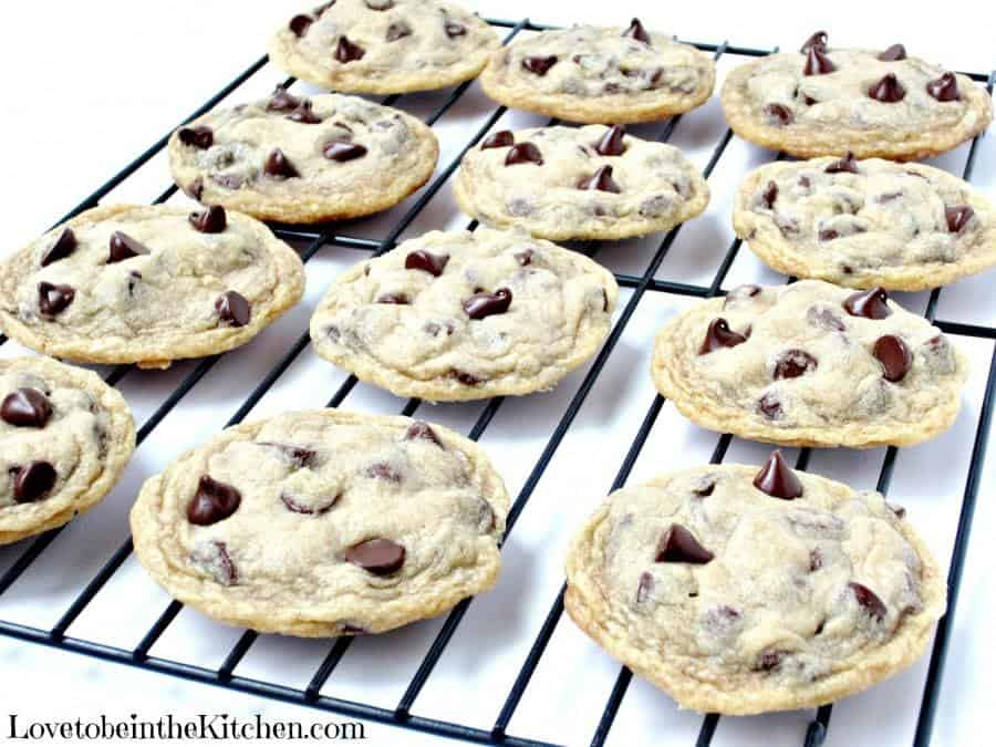 I've finally found the Perfect Chocolate Chip Cookie, soft and chewy, easy to make and hard to mess up!