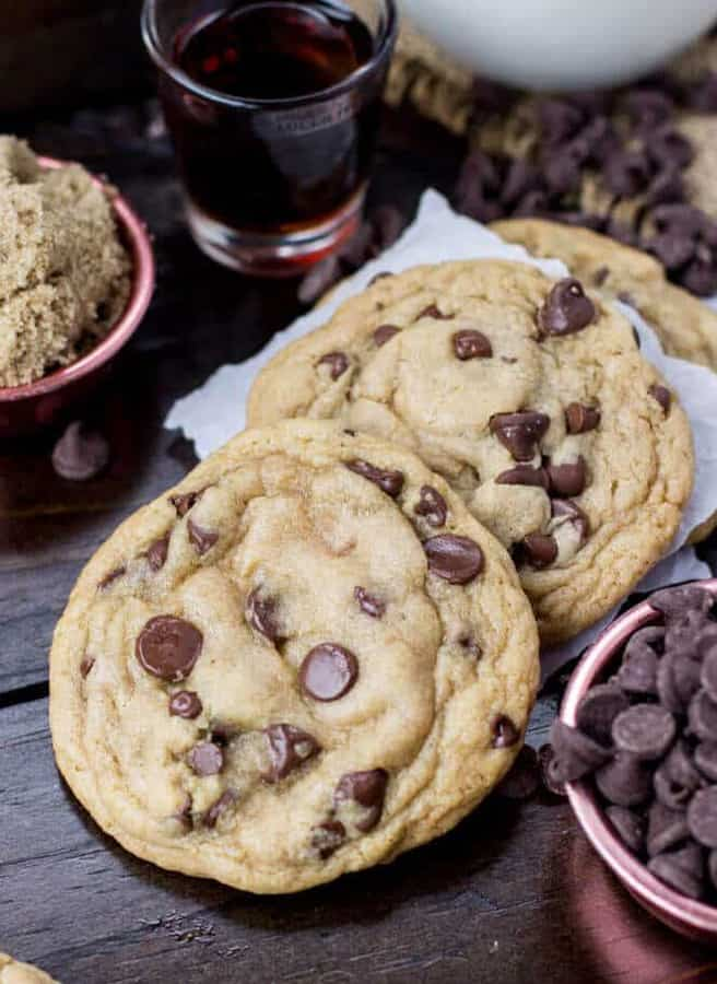 Go no further, these chocolate chip cookies will ruin your life. You have been warned.