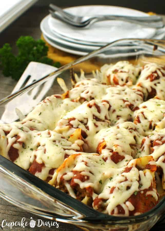 Stuffed shells are a great way to serve spaghetti in a unique way. The whole family will love these shells!
