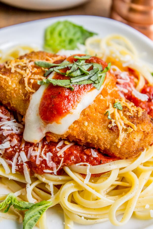 Crispy Fish Parmesan