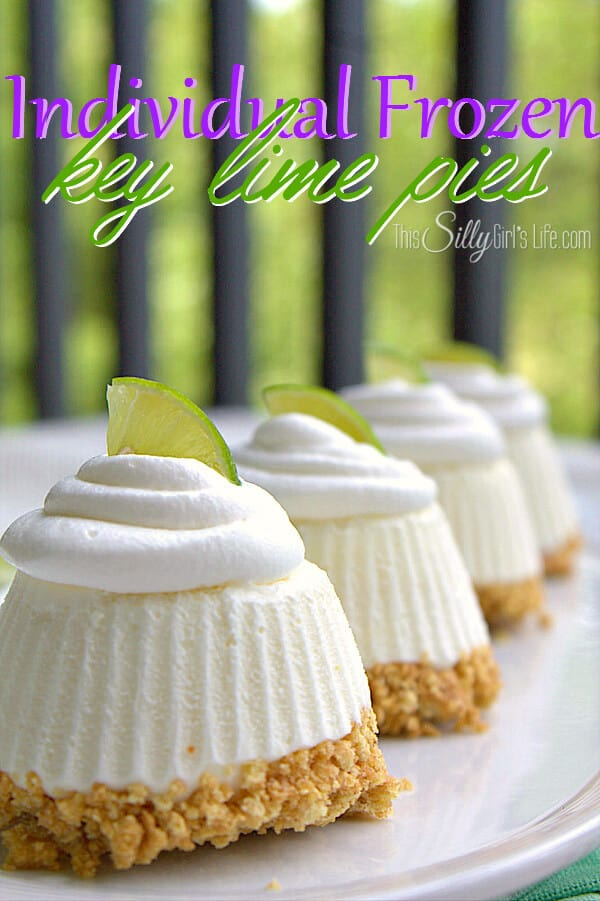 These Individual Frozen Key Lime Pies are the perfect sized treat to ...