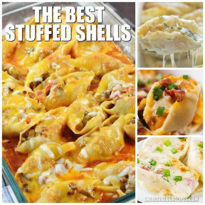 Stuffed shells are amazing and so easy to make, which is why we have compiled The Best Stuffed Shells Recipes! These recipes are perfect for a lazy weeknight meal, or a dinner to impress. With delicious and savory flavors, no one will be able to resist these recipes!