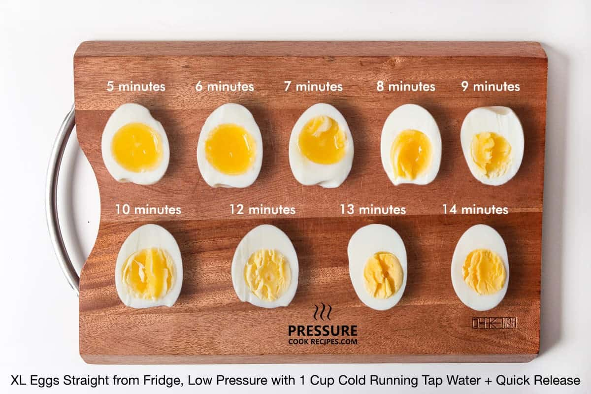 "Want to make pressure cooker hard boiled eggs or a perfect soft boiled egg, but not getting the results you want? You've come to the right place! We're taking the guesswork out of making the perfect pressure cooker eggs with our ""eggsperiment"". ?"