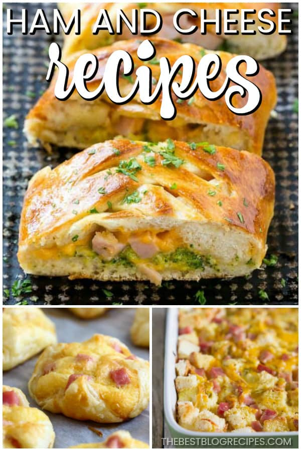 Easy Ham and Cheese Recipes are going to be some of your new favorites! You will love these twists on the classic Ham and cheese combo that we all adore!