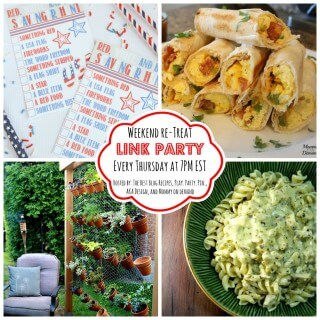 The Weekend re-Treat Link Party #124