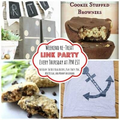 The Weekend re-Treat Link Party #129