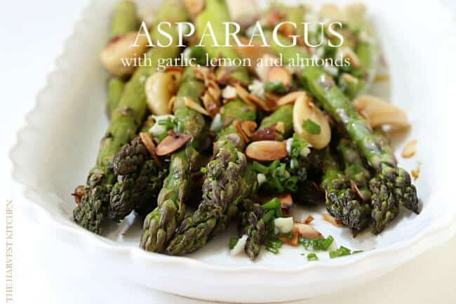This Roasted Asparagus with Lemon and Garlic is the perfect side dish ...