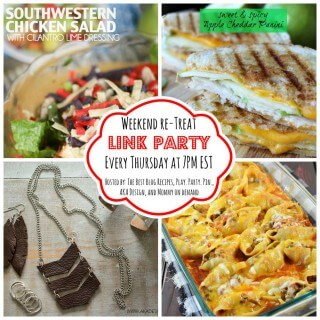 The Weekend re-Treat Link Party #134