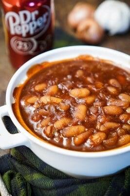Dr. Pepper Baked Beans