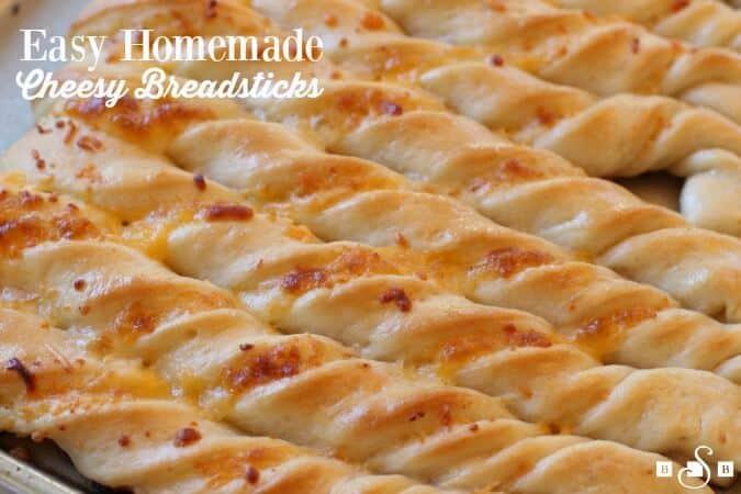 Cheesy Breadsticks - The Best Blog Recipes