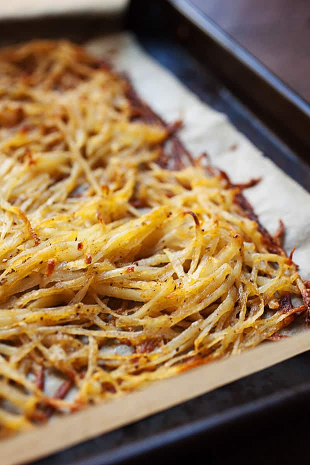 Sheet Pan Hash Browns The Best Blog Recipes