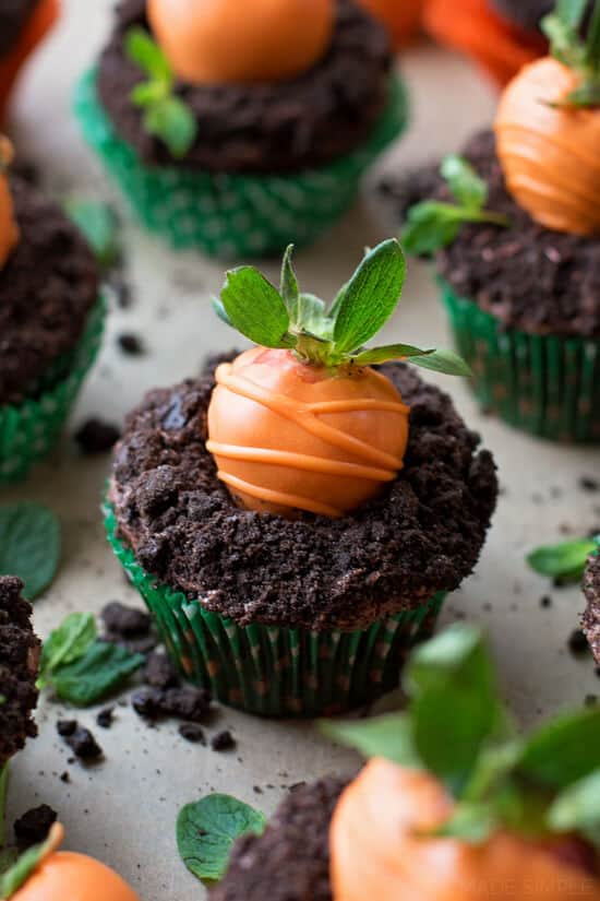 Carrot Patch Cupcakes The Best Blog Recipes