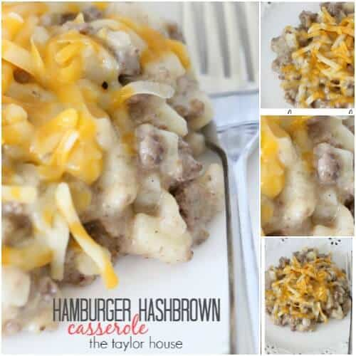 Hash Brown Beef Casserole